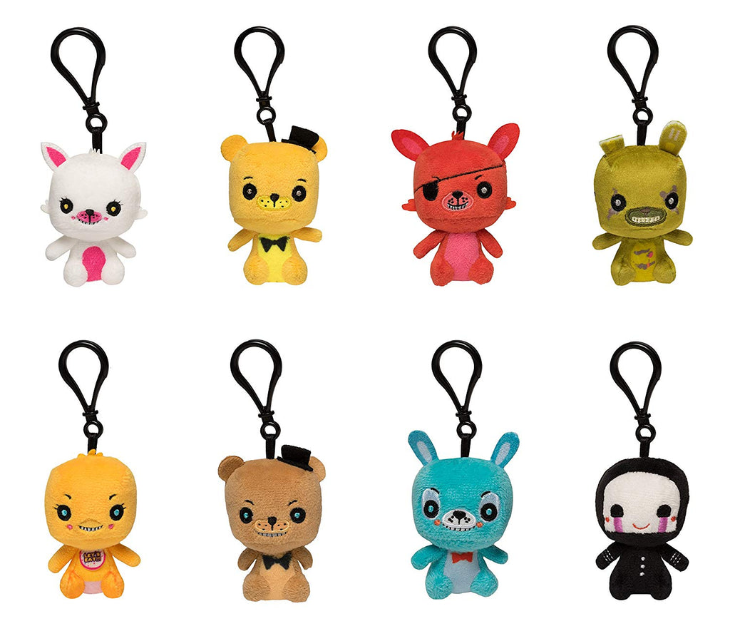 Funko Blind Bag Plush Keychain: Five Nights At Freddy's-One Mystery Figure Collectible