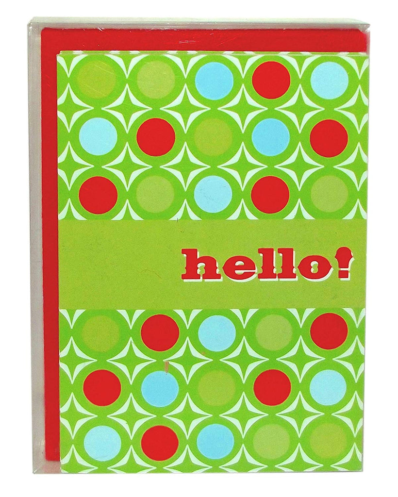 Hello Holiday Boxed Christmas Holiday Cards, 10-Count