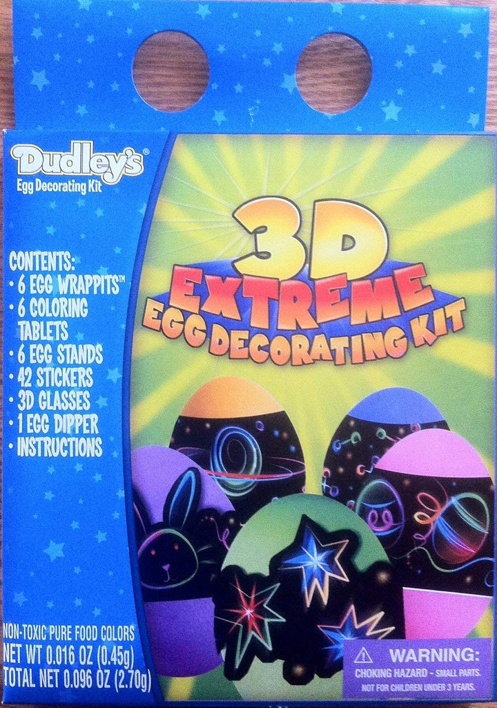 Dudley's 3D Extreme Egg Decorating Kit
