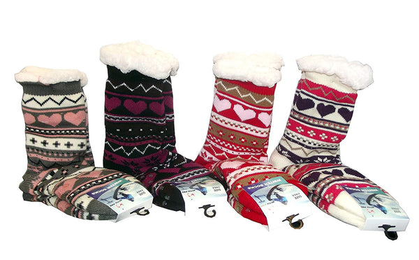 Activ Pro Ultra Soft Knit Winter Socks, Assorted, One Size