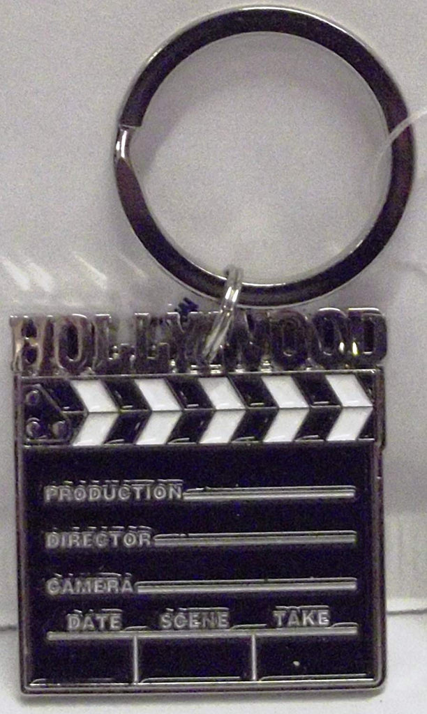 Hollywood Clapboard Keychain