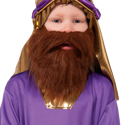 Forum Novelties Child Wiseman Beard (Brown)-
