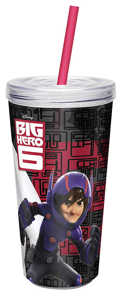 Zak! Designs Insulated Tumbler with Screw-on Lid and Straw with Despicable Me 2 Minions Graphics