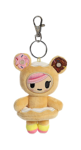 Aurora Donutella & Her Sweet Friends Plush Clip-On Collectible Series 1 Single Random Bag
