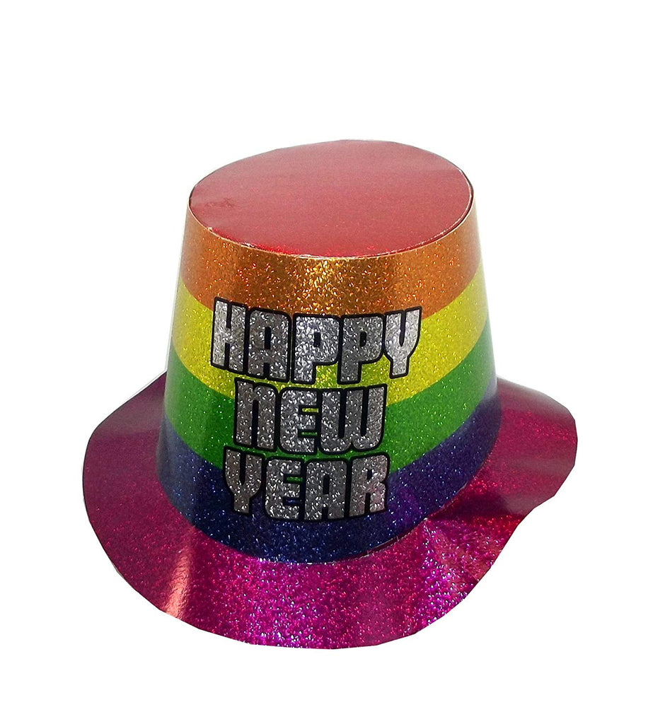 "Beistle Everyday ""Happy New Year"" Holographic Rainbow Party Hat, One Size"