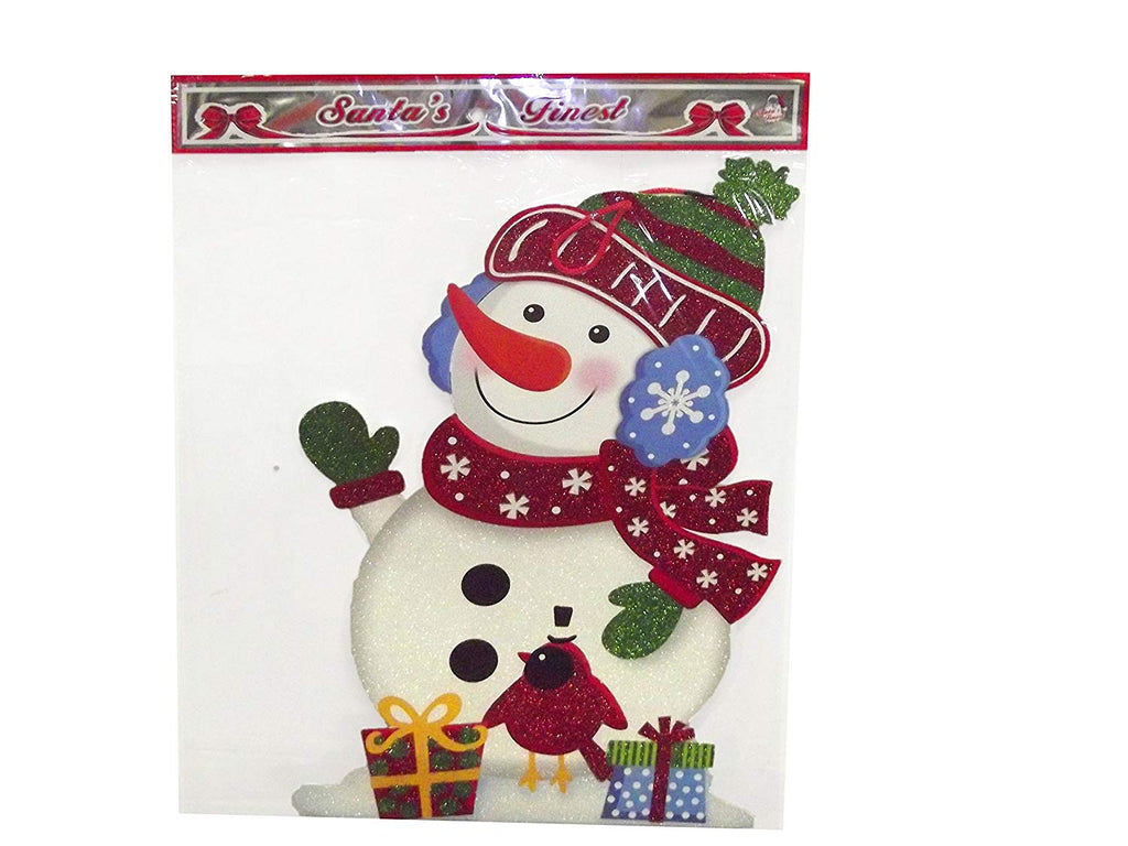 UMG SANTA'S FINEST CHRISTMAS HANGING SIGN, SNOWMAN