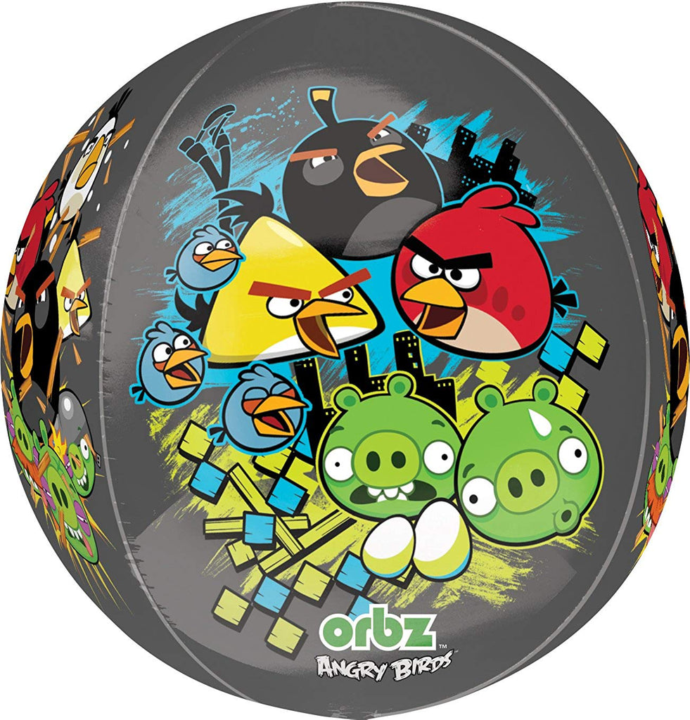 Anagram Angry Birds Supershape Orbz Balloon