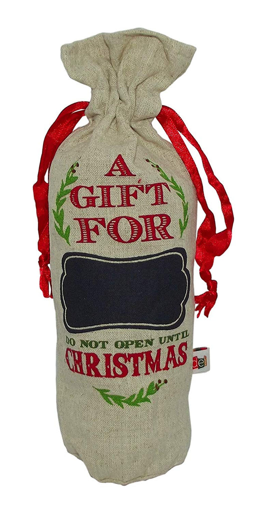 'A Gift For Christmas' Chalkboard Gift Bag