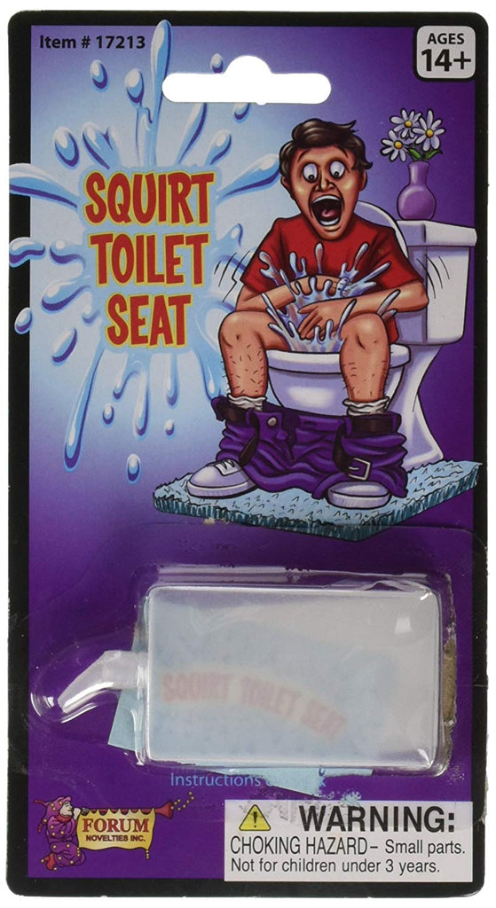 Squirt Toilet Seat Novelty Toy