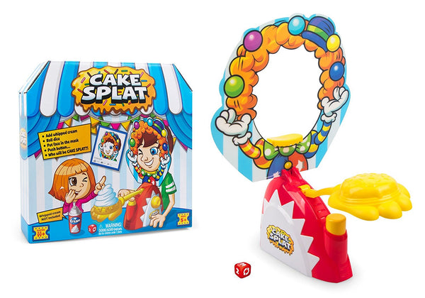 Zuru Cake Splat - Why take a pie to the face when you can make a cake go SPLAT?