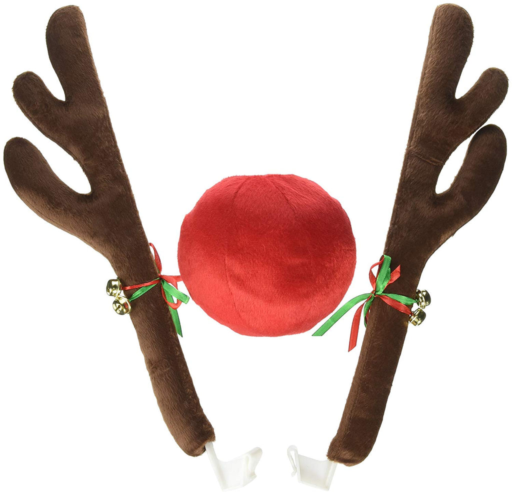 "17"" Reindeer Antler Car Set by Dodson Group"