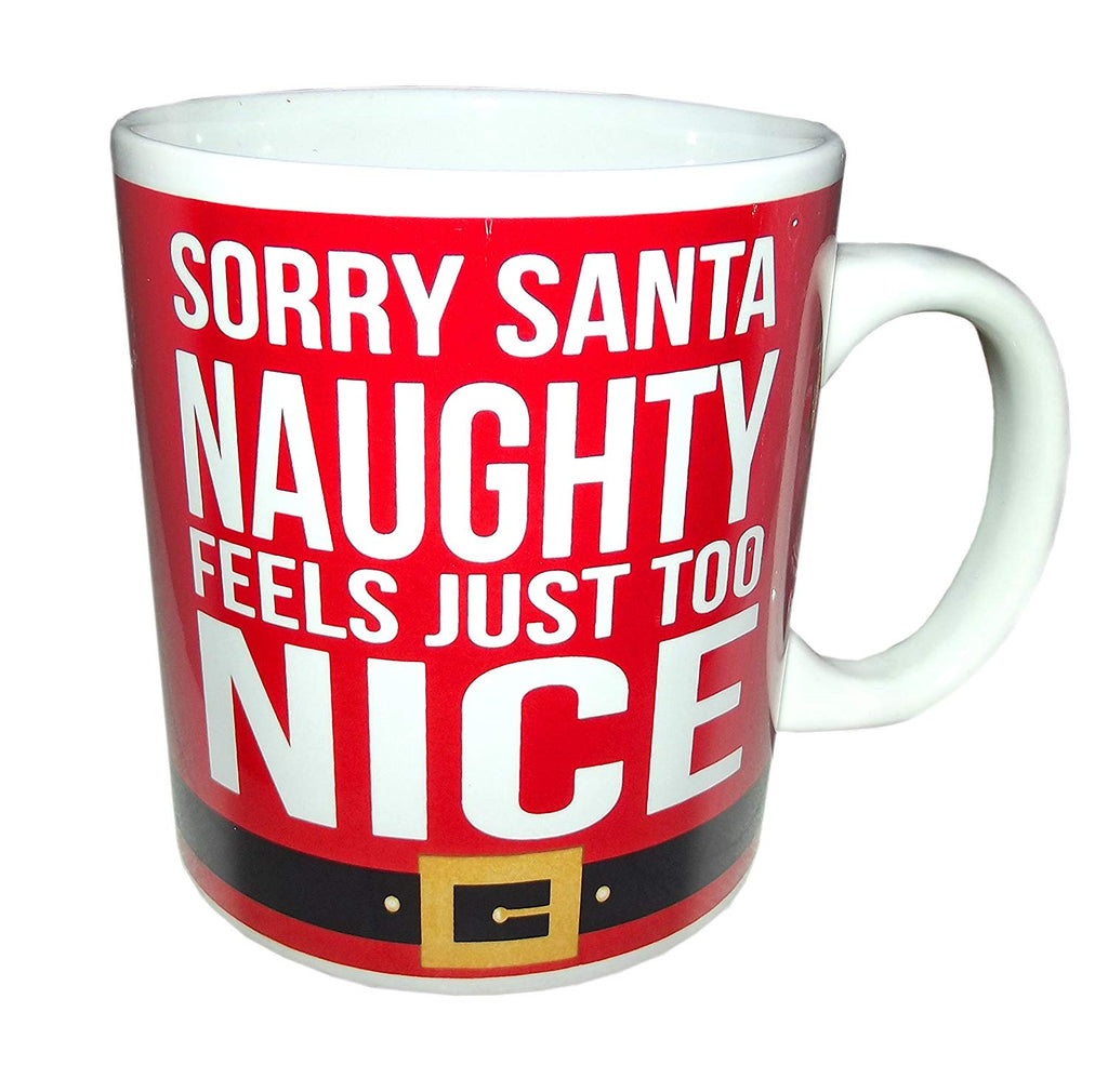 Santa Big Can Mug 20 Oz - Sorry Santa