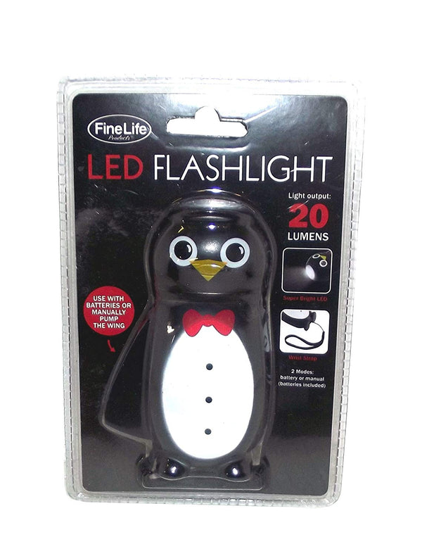 Fine Life Products Penguin Handheld LED Flashlight