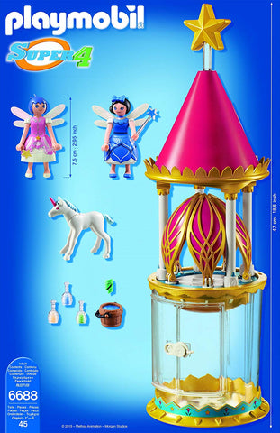 PLAYMOBIL®® Super 4 Musical Flower Tower with Twinkle Building Kit