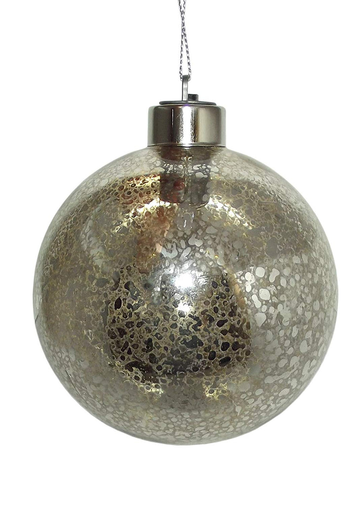 Ganz Light Up Metallic Colored Christmas Ornament