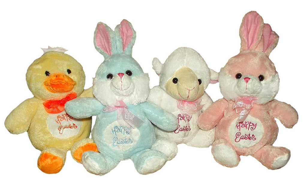 "11"" Happy Easter Friends Assorted Plush-Includes 1; styles vary"