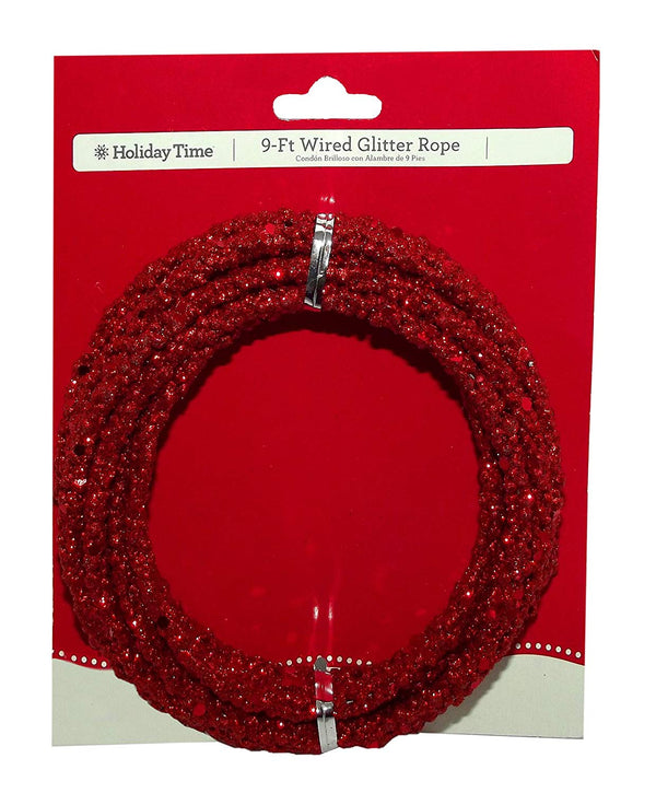 9 Ft. Wired Gitter Rope (Red)