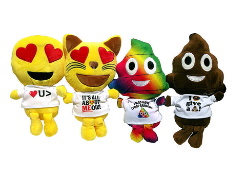 Emoji Plush Pals Assorted Styles (only 1 pc per order)