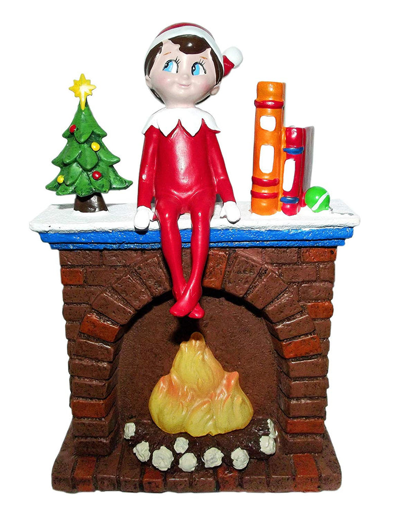 The Elf On The Shelf Tabletop Fireplace LED Night-Light