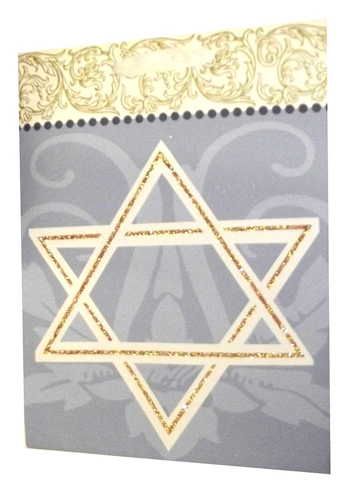 Hanukkah Star of David Large Bag-13""