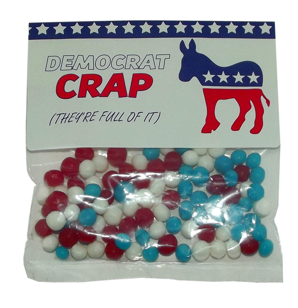 Democrat Crap (They're Full of It) Candy Bag (Net wt 1.75oz)