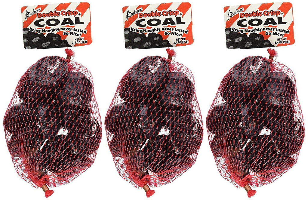 Palmer Chocolate Coal Double Crisp Christmas Gift 3 Pack