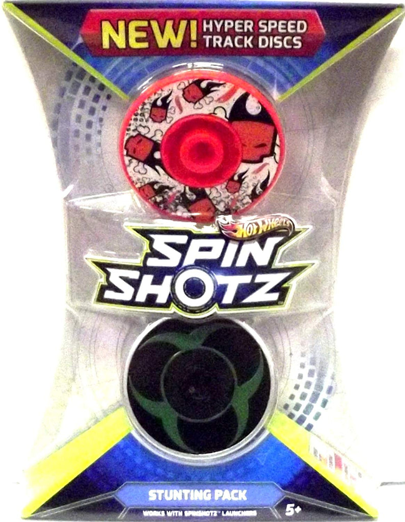 Hot Wheels SpinShotz Stunting Pack