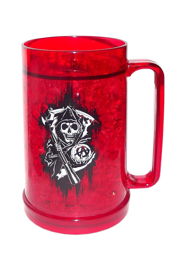 Sons of Anarchy Red Frosty Mug