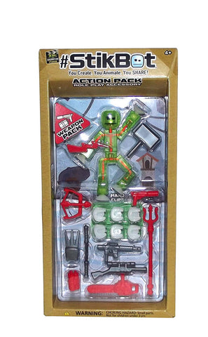 #StikBot Action Pack Figure Roleplay Accessory Set