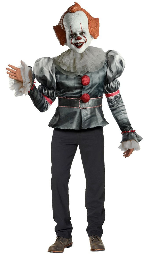 Rubie's Men's IT Movie Chapter 2 Adult Pennywise Deluxe Costume- Standard