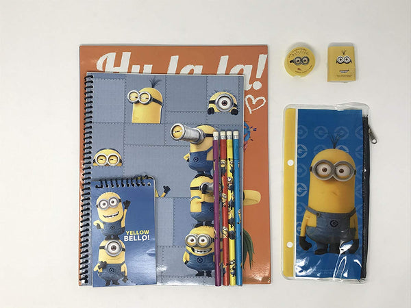 Despicable Me 2 Back to School Stationary Set-11 piece