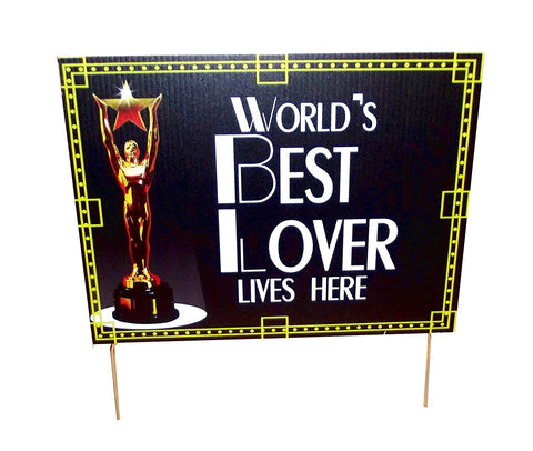 Aahs Engraving - Worlds Best Yard Signs