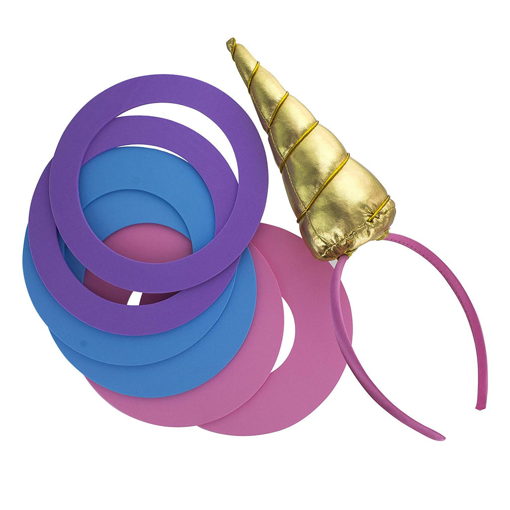 Unicorn Hoopla Ring Toss - Party Game