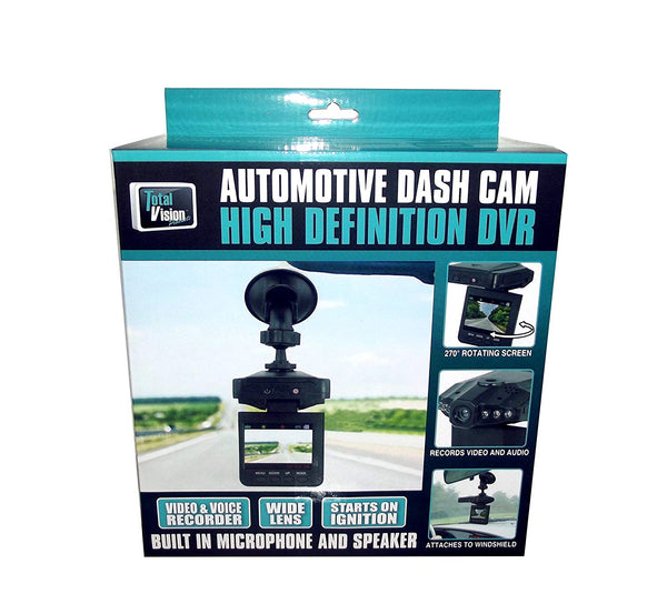 Total Vision High Definition DVR Automotive Dash Cam
