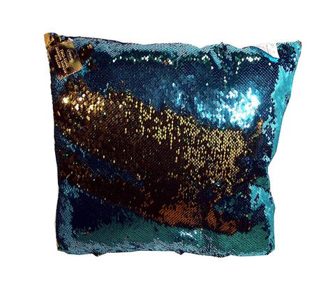 Fine Life Products Two-Tone Sequin Throw Pillow