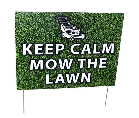 Aahs Engraving Home Novelty Yard Sign, 16 X 12 inches