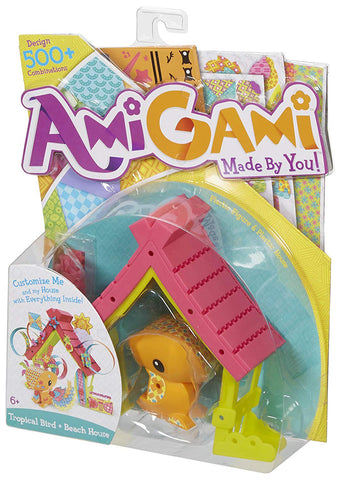 AmiGami Toucan and Birdhouse Playset