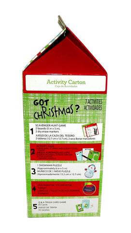 GOT HOLIDAY ACTIVITY CARTON