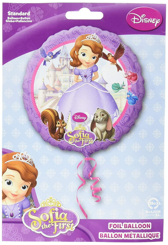 Anagram International HX Sofia The First Party Balloons, Multicolor
