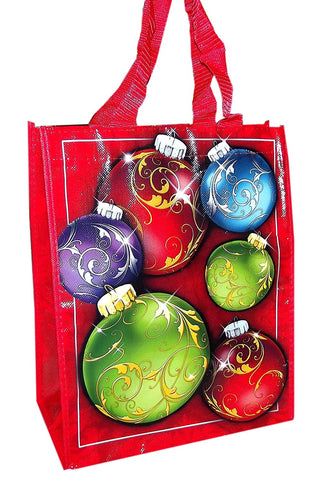 It's In the Bag Christmas Woven Bag-12.5in (Assorted-Choices may vary)