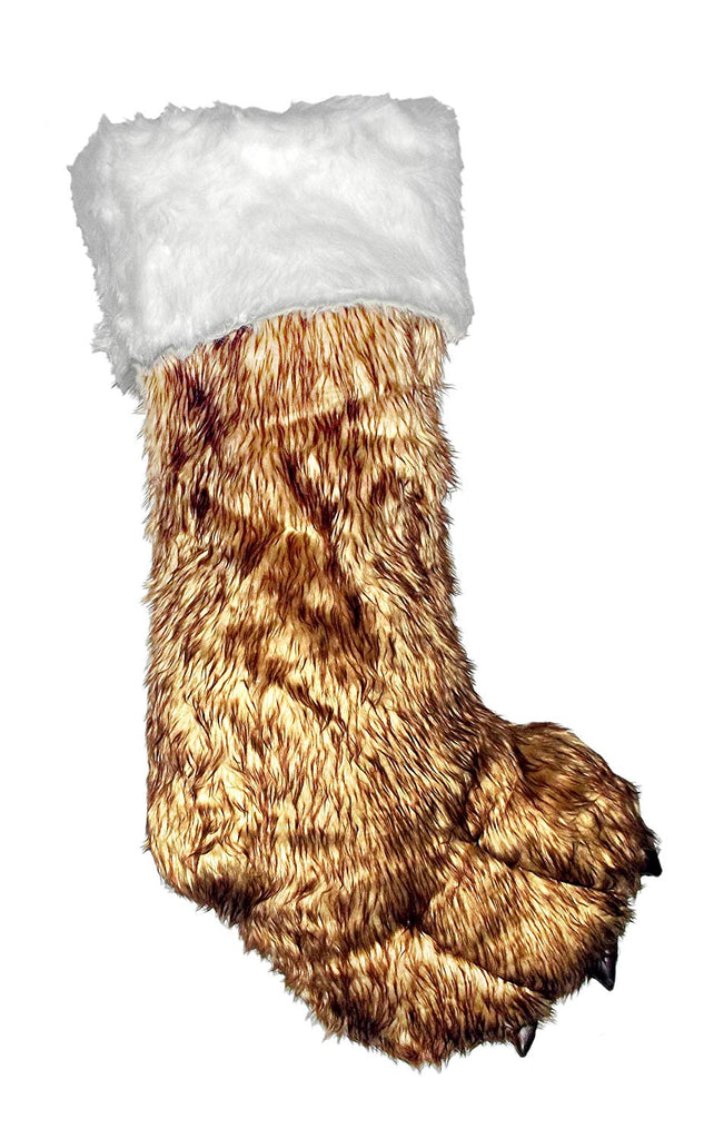 31-Inch Oversize Big Foot Plush Stocking