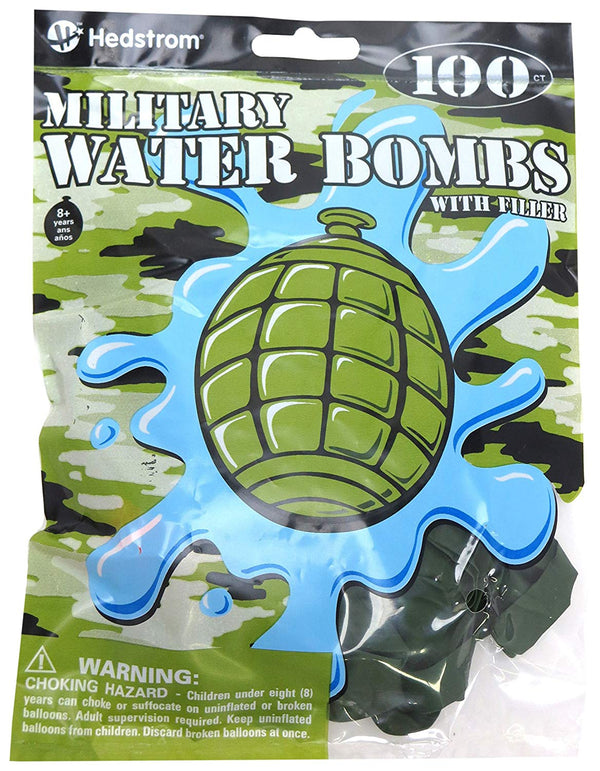 Military Water Bombs 100-Pack