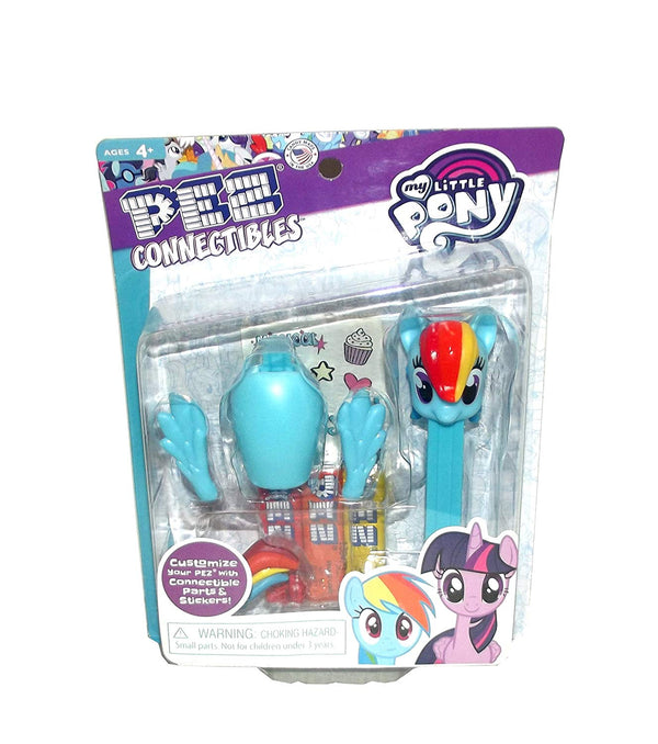 PEZ Connectibles My Little Pony Friendship is Magic Dispenser with Candy and Accessories