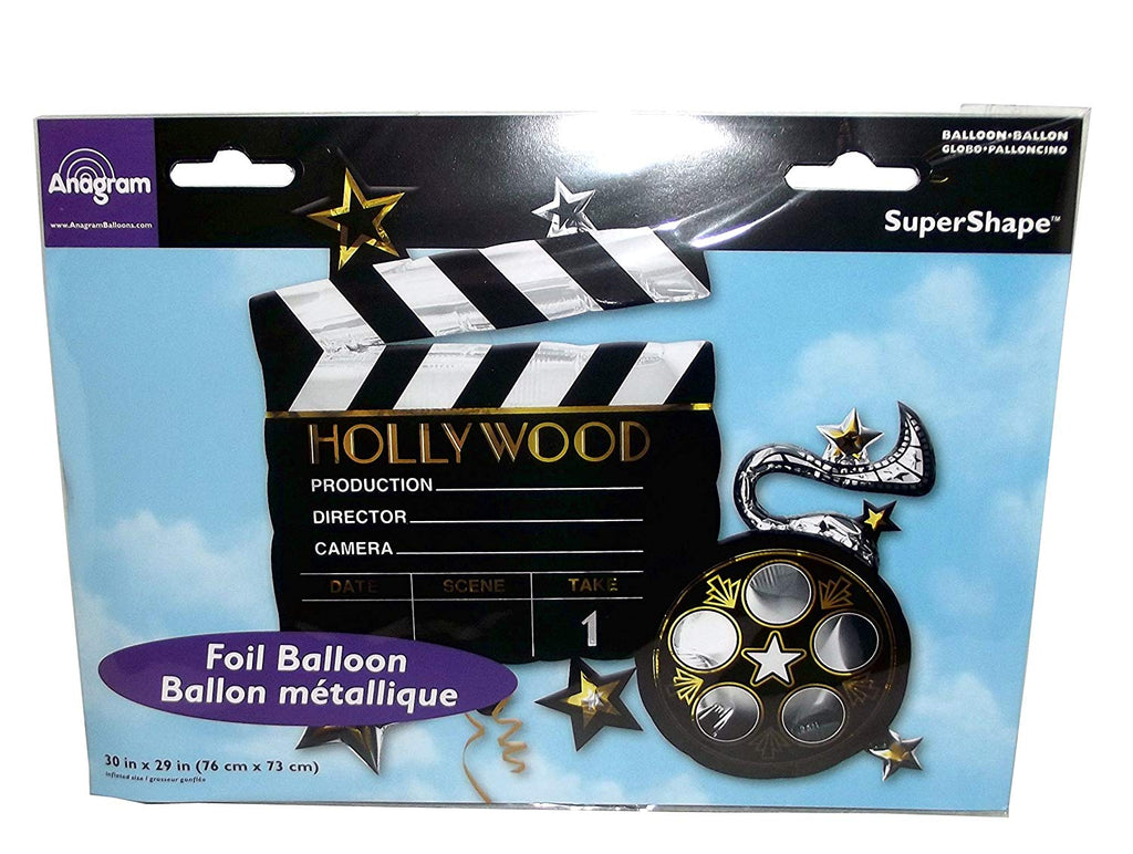 Anagram 30 Inch Lights Camera Action Balloon by