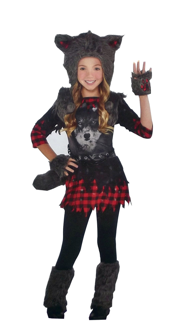 Amscan Suit Yourself She Wolf Girls' Werewolf Costume