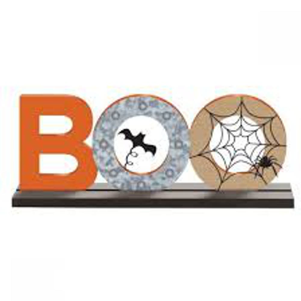 Boo Stand Sign