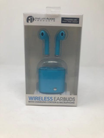 Wireless Earbuds with charging station