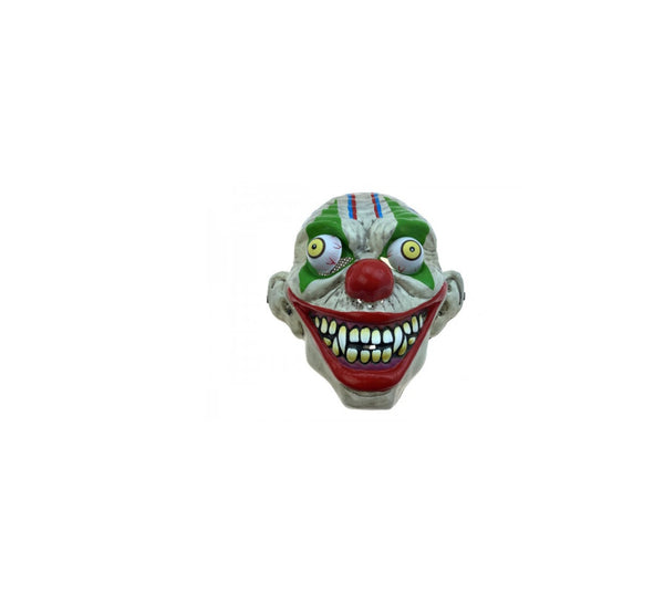 Scary Clown Mask with Popping Eyes