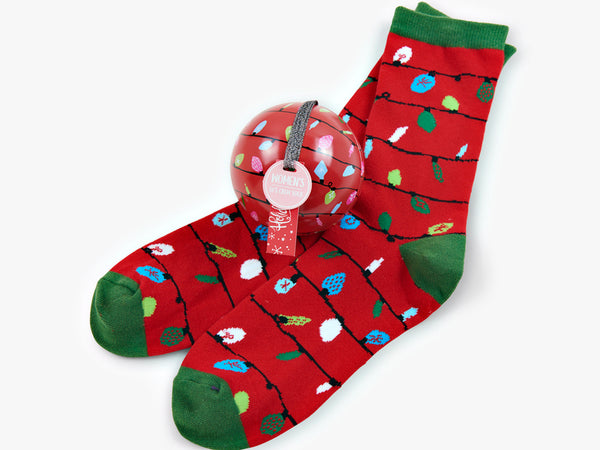Deck the halls with Socks in Balls