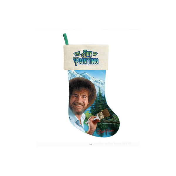 Bob Ross Joy Stocking